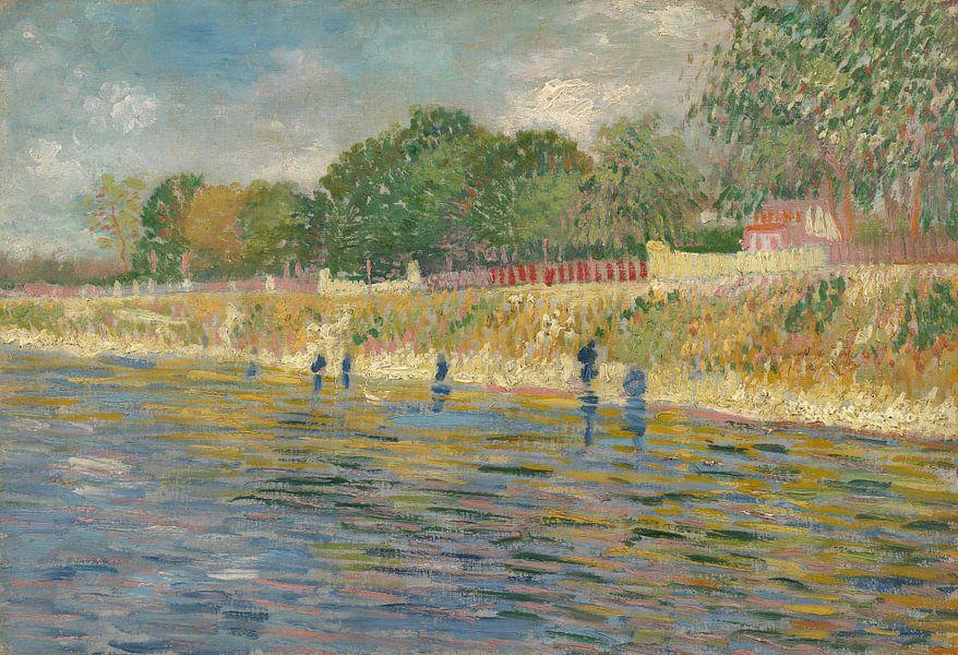 Vincent van Gogh, Oever van de Seine van 1000 Schilderijen
