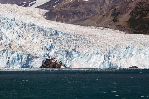 Aialik Gletsjer Alaska  in de Kenai Fjords van