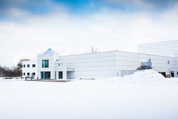 Paisley Park van Prince! in de sneeuw!  van Peter Lodder