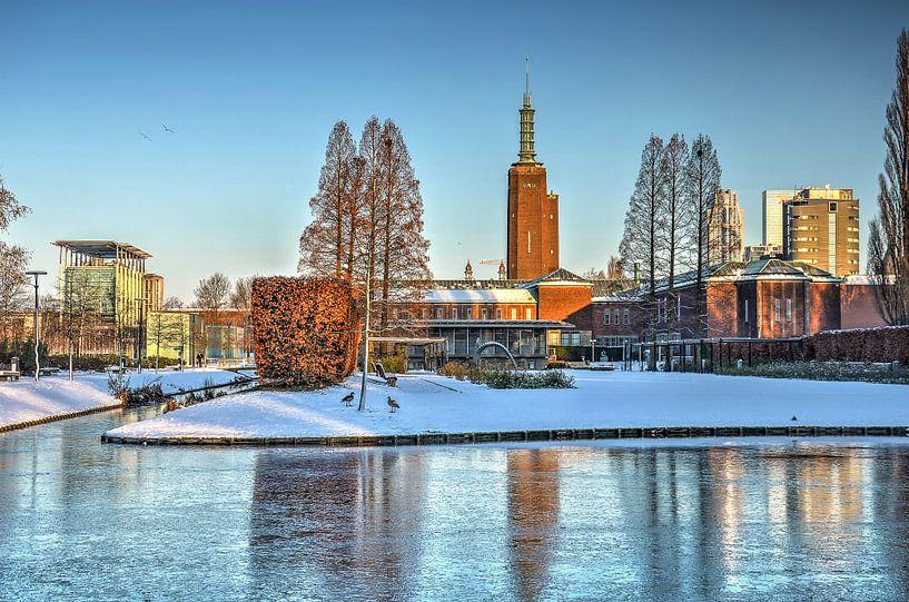 Winter in het Museumpark van Frans Blok