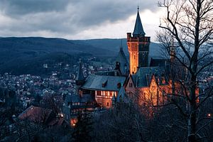 Schloss Wernigerode im Harz van