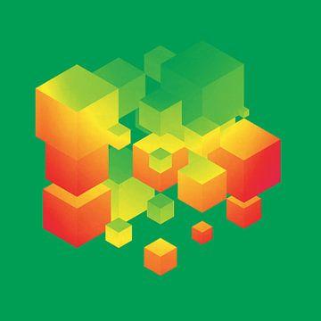 Fly Cube N1.1 van Olis-Art