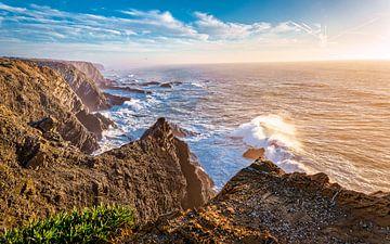 Sunset at the Atlantic ..... van Robert Van Der Linde