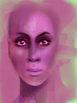 Naked Pink van Afrotastic Art