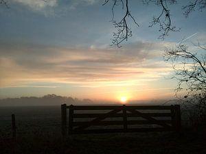 ochtendzon over westerwolde