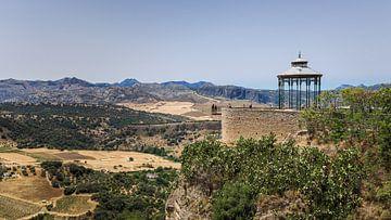Blick von Ronda in Südspanien von Fotografiecor .nl