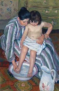 Mary Cassatt. The Child's Bath