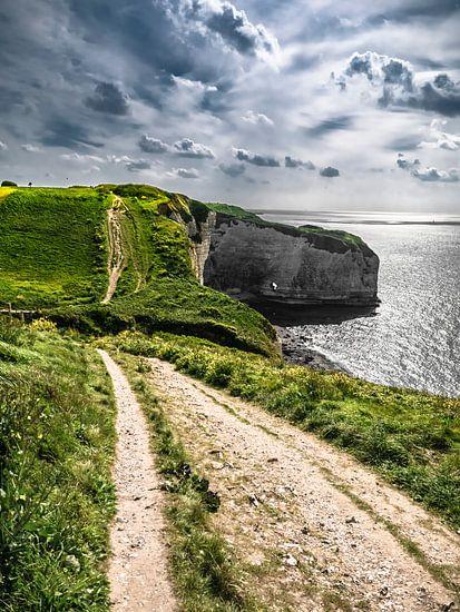 Landschap van Normandië van Oscar van Crimpen