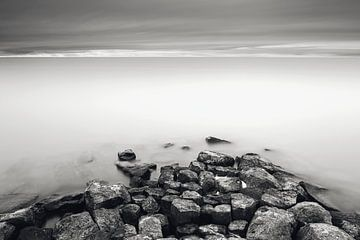 Long Exposure Ijsselmeer van Mark van der Walle