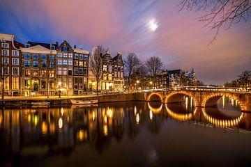 Keizersgracht Gevels, Amsterdam van Peter Bolman