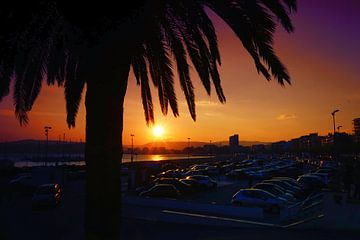 Sea of Cars in Palamos City sur Arianor Photography