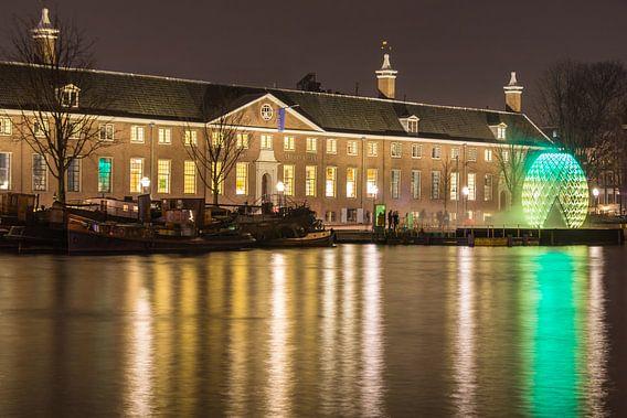 Hermitage Amsterdam in de avond