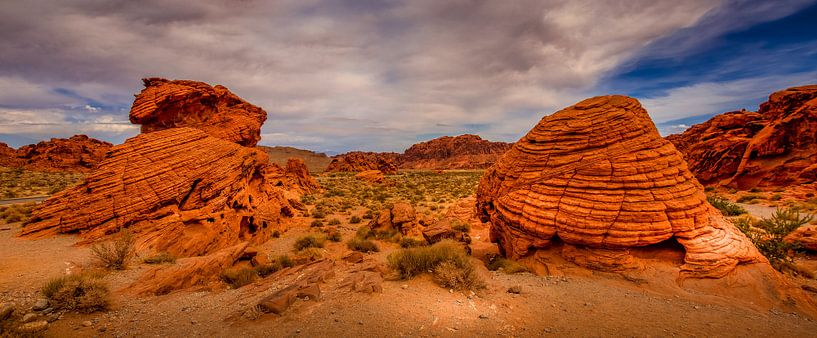 Valley of Fire van Ronnie Westfoto