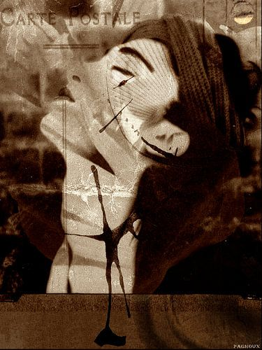 carte postale van sandrine PAGNOUX