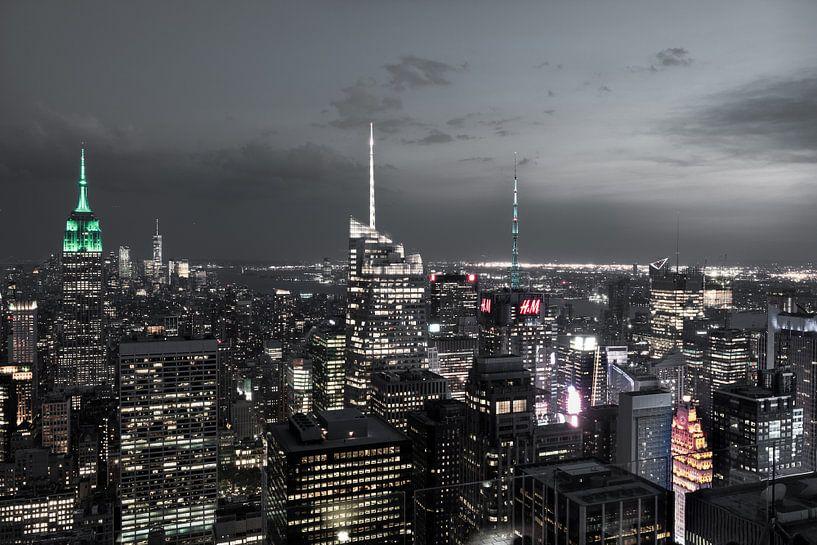 New York    Stadtübersicht van Kurt Krause