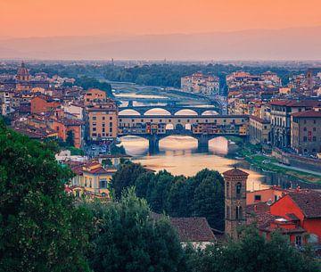 Ponte Vecchio-Brücke, Florenz, Italien