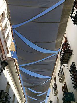 Zonnedoeken in Spanje van Marlies Laenen