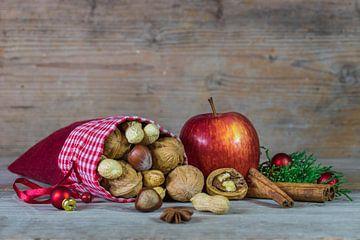 Advent en Kersttijd voedsel decoratie van Alex Winter