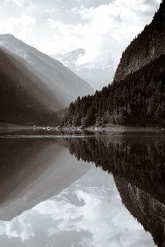 Stillup meer in Oostenrijk van Marleen Kuijpers