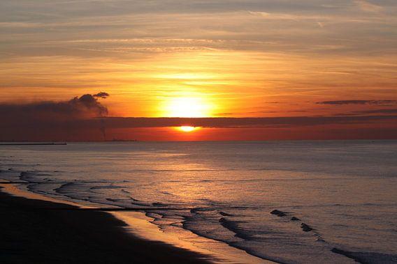 zonsondergang van Johan Töpke