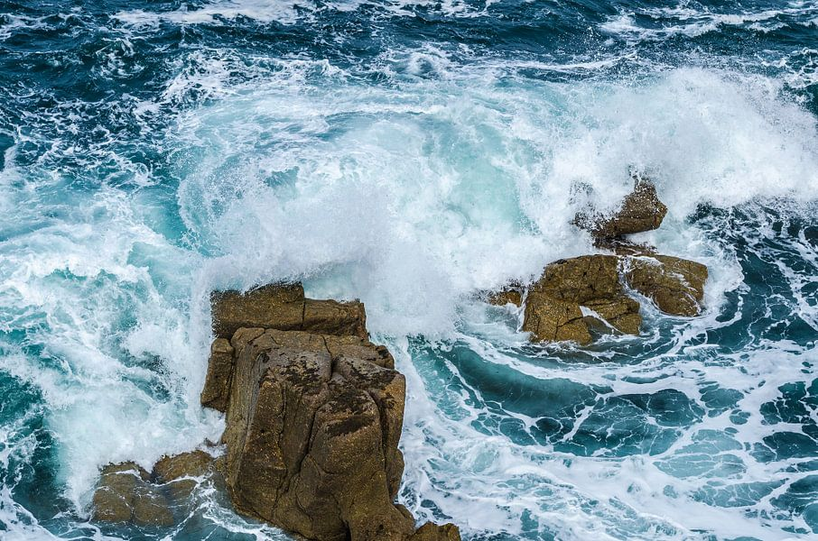 Woeste zee van Arthur Wolff