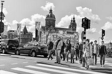Urban fotografie in Amsterdam van Eric de Kuijper