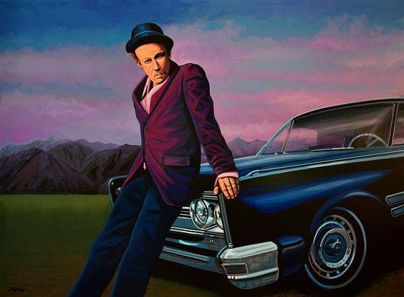 Tom Waits Schilderij van Paul Meijering