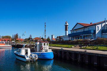 Bateaux de pêche dans le port de Timmendorf sur l'île de Poel