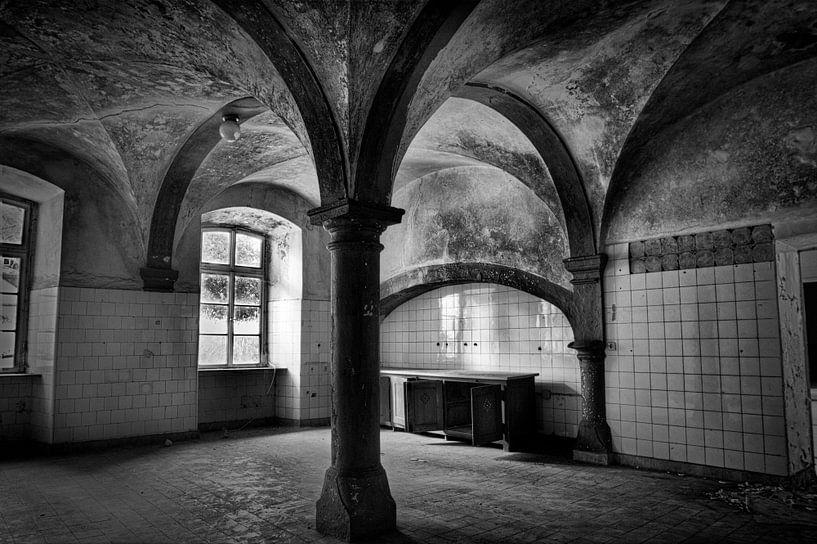 Verlaten klooster van Eus Driessen