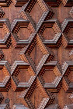 Herhalend hout vakwerk. van Axel Weidner