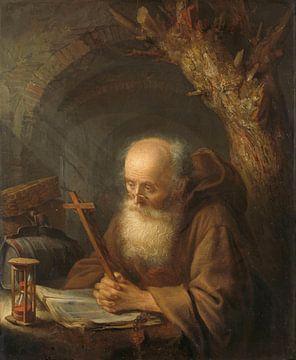 Ein Einsiedler, Gérard Dou
