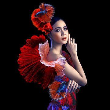 Koningin van de oceaan van OEVER.ART