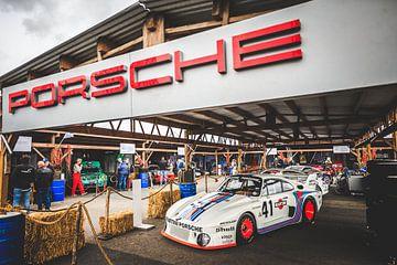 Porsche 935 Historic Grand Prix Zandvoort 2019 Jürgen Barth sur Rick Smulders