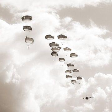 Parachutisten sur Tess Smethurst-Oostvogel