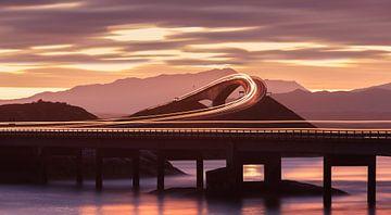 Atlantikstraße, Møre og Romsdal, Norwegen von Henk Meijer Photography