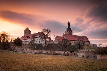 Burg in Querfurt am Abend von Martin Wasilewski