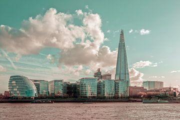 LONDON Am Ufer der Themse| urbaner Vintage-Stil von Melanie Viola