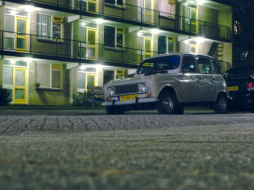 Renault 4 klassieke auto