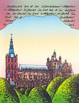Sint-Jan Den Bosch van Helmut Böhm