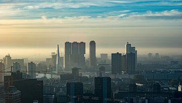 Skyline Rotterdam von 24 liquidmedia