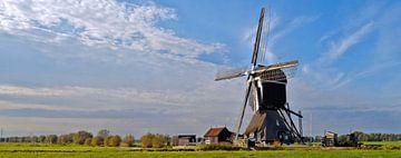 Tiendwegse molen-pano van Leo Huijzer
