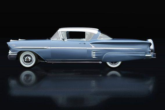 Chevrolet Impala Special Sport 1958 Zijaanzicht