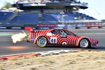 Vlammenwerper BMW M1 Procar BASF van Detlef Sauer