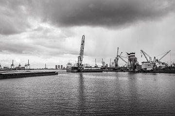 Hafen von Rotterdam von Ton de Koning