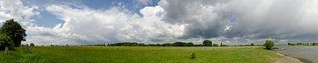 Uiterwaarden Ijssel bij Zutphen. van Marcel Pietersen
