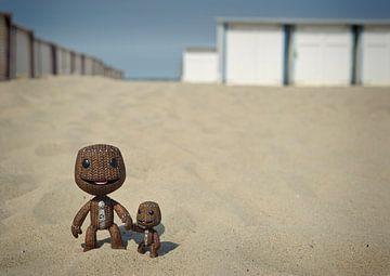 Een dagje strand van David Dirkx