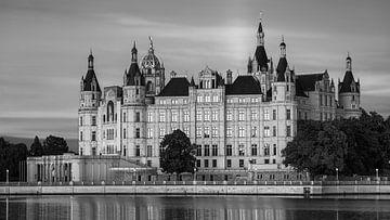 Het kasteel van Schwerin in zwart-wit van Henk Meijer Photography