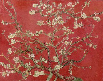 Mandelblüte von Vincent van Gogh (Rot)