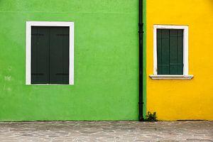 Burano Grün Gelb von