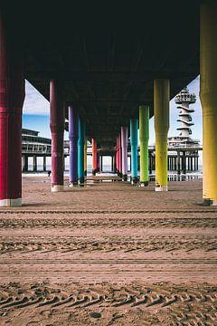 Onder de Pier in Scheveningen sur Edzard Boonen